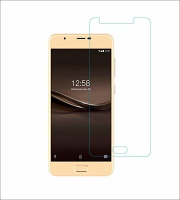CHAMBU Tempered Glass Guard for MICROMAX BOLT A40(Pack of 1)