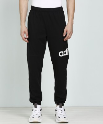 ADIDAS Printed Men Black Track Pants at flipkart