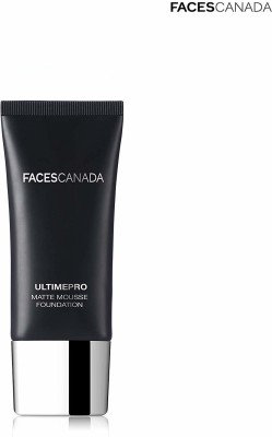 FACES CANADA Ultime Pro Matte Mousse Foundation - Ivory 01 Foundation(Black, 30 g)