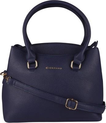 Giordano Women Blue Hand-held Bag