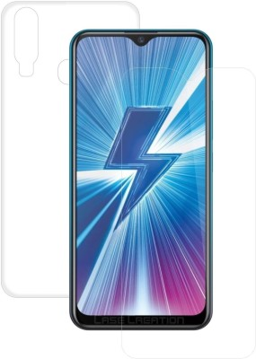 Case Creation Front and Back Screen Guard for Vivo V9(Pack of 2)