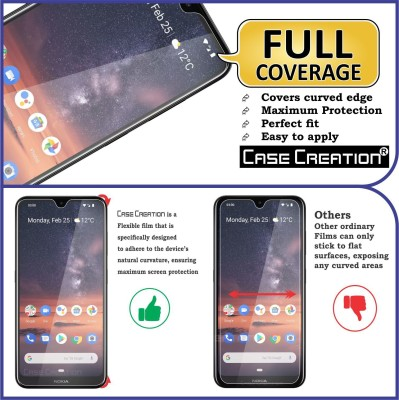 """Case Creation Front and Back Screen Guard for Nokia 3.2 6.26\"""" inch(Pack of 2)"""