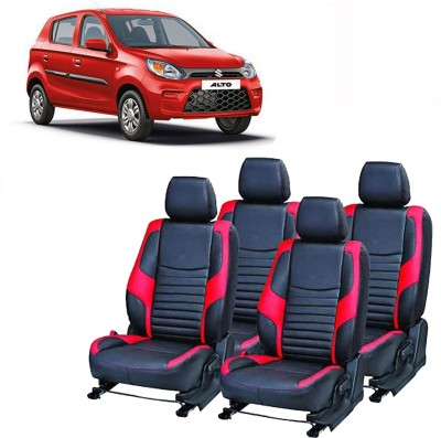 JMDI Leatherette Car Seat Cover For Maruti Alto K10(Fixed Head Rest, Mono Back Seat, Without Back Seat Arm Rest, 4 Seater, 2 Back Seat Head Rests)