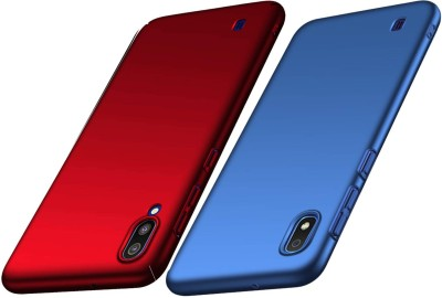 Spicesun Back Cover for Samsung Galaxy A10(Blue, Red, Hard Case)
