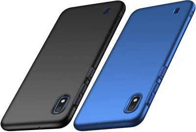 Spicesun Back Cover for Samsung Galaxy A10(Blue, Black, Hard Case)