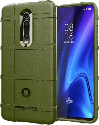 Wellpoint Back Cover for Mi K20, Mi K20 Pro, Mi K20, Mi K20 Pro, Plain, Case, Cover(Green, Grip Case)