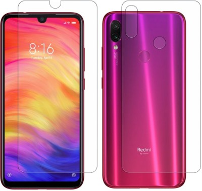 Vonqo Front and Back Screen Guard for Mi Redmi Note 7, Mi Redmi Note 7 Pro, Mi Redmi Note 7S(Pack of 1)