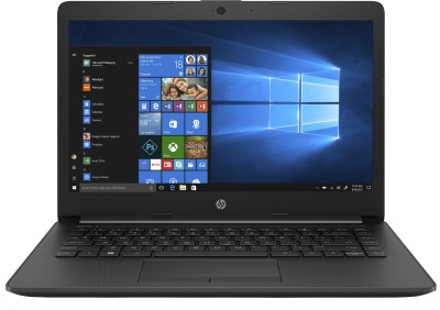 HP 14q APU Dual Core A9 - (4 GB/256 GB SSD/Windows 10) 14q-cy0006AU Laptop(14 inch, Black, 1.47 kg)
