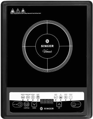 Singer SIK 7US VDE Induction Cooktop(Black, Push Button)