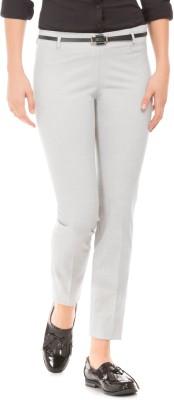 Arrow Regular Fit Women Grey Trousers at flipkart
