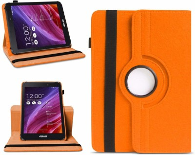 TGK Flip Cover for Asus Fonepad 7 2014 FE170CG Tablet 7(Orange, Cases with Holder)