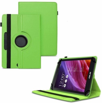 "TGK Flip Cover for Asus Fonepad 7 2014 FE170CG Tablet 7""/ 360 Degree Rotating Universal Case With Three Camera Hole(Green, Cases with Holder)"