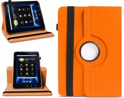 """TGK Flip Cover for Dell Streak 7 4G Tablet 7""""(Orange, Cases with Holder)"""