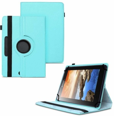 TGK Flip Cover for Lenovo A7-50 Tablet 7 inch / 360 Degree Rotating Universal Case With Three Camera Hole(Blue, Cases with Holder)