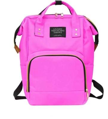 Portia 8261 Baby Diaper Bag Maternity Backpack BagDiaper backbpack Pink