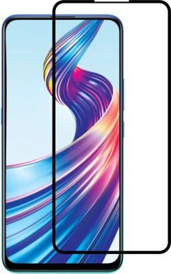 flysto Edge To Edge Tempered Glass for Vivo V15 ( BLACK )(Pack of 1)