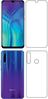 Fashion Way Front and Back Tempered Glass for HONOR 20I {BUFF GUARD}(Pack of 2)