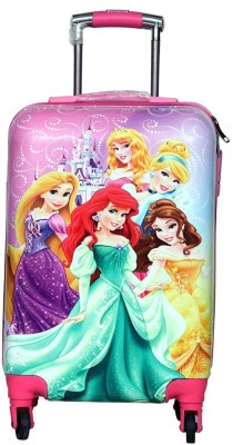 D Paradise PRINCESS trolley bag  suitcase  for kids and girls Cabin Luggage   21 inch D Paradise Suitcases