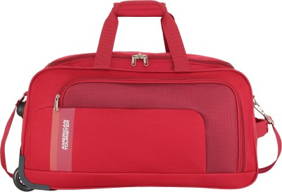 American Tourister CAMP WHEEL DUFFLE 57cm - RED Duffel Strolley Bag  (Red)