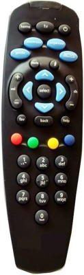 SINAL DTH remote with 3 months warranty Tata sky Remote Controller Black SINAL Appliance Parts   Accessories
