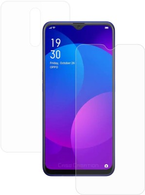 Case Creation Front and Back Screen Guard for Oppo F11(Pack of 2)