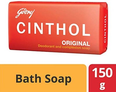 Cinthol Original Epic Deodorant and Complexion Soap 150 G (Pack of 4) 600 G(4 x 150 g)