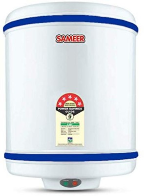 Sameer 10 L Storage Water Geyser (SAL202 10-Litre Spout Water Heater, White)