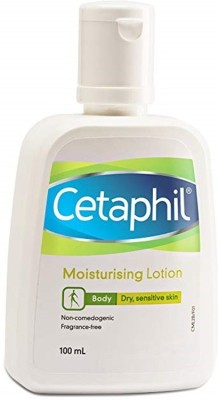 Cetaphil Moisurising Body Dry, Sensitive Skin Lotion 100ml(100 ml)