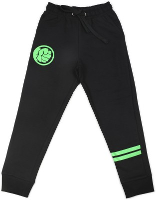 Miss & Chief Track Pant For Boys(Black, Pack of 1) at flipkart