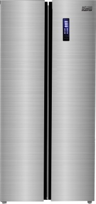 Mitashi 510 L Frost Free Side by Side Inverter Technology Star Refrigerator(Silver, MiRFSBS1S510v20) 1