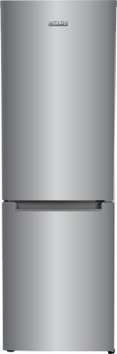 Mitashi 345 L Frost Free Double Door Bottom Mount 2 Star (2019) Refrigerator (Silver, MiRFBMF2S345v20)
