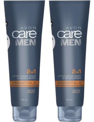 Avon Care Men 2-in-1 Shaving Balm & Moisturizer (set of 2)(200 ml)
