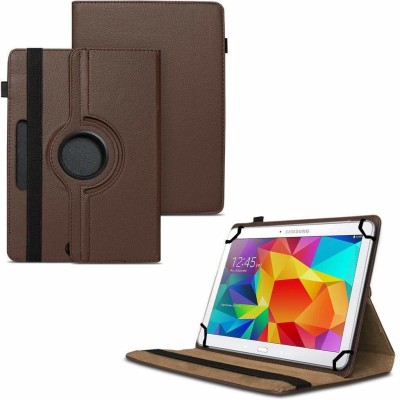 TGK Book Cover for Samsung Galaxy Tab 4 10.1 inch Sm-T530, T531, T535 360 Degree Rotating Leather Smart Case(Black, Cases with Holder)