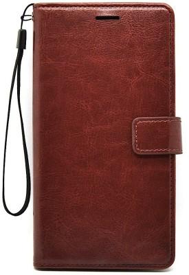 Flipkart SmartBuy Flip Cover for Mi Redmi Note 5 Pro(Vintage Brown, Shock Proof)