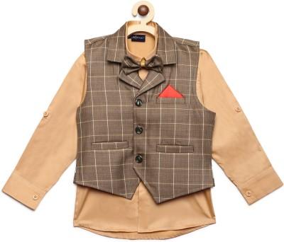 AJ Dezines Indi Boys Festive   Party Shirt   Waistcoat Set