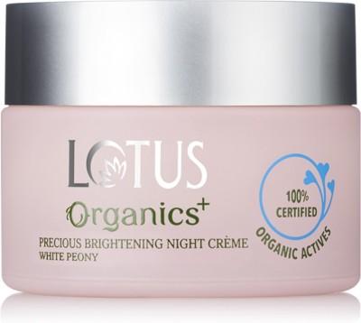 Lotus Organics+ Precious Brightening Night Crme(50 g)