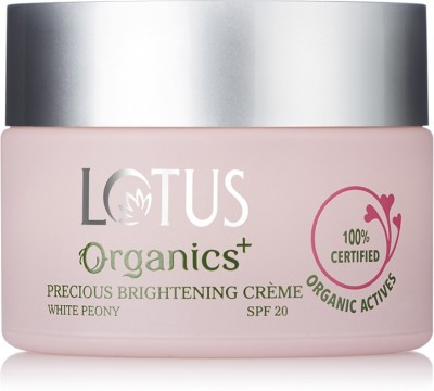 Lotus Organics+ Precious Brightening Crme SPF 20(50 g)