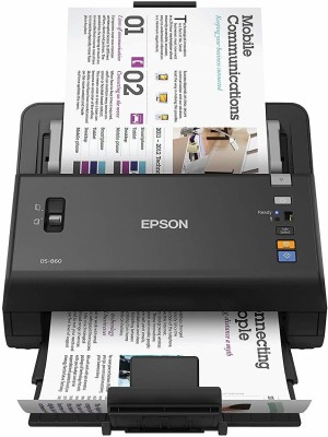 Epson WorkForce DS-860 Document Scanner IND Corded & Cordless Portable  Scanner