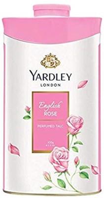 Yardley London English Rose Perfumed Talc(100 g) at flipkart