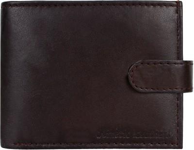 Kinetic Leathers Men Brown Genuine Leather Wallet 3 Card Slots
