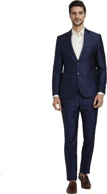 Parx Mens Formal Suits Solid Men Suit at flipkart