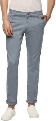 Ben Martin Regular Fit Men Grey Trousers
