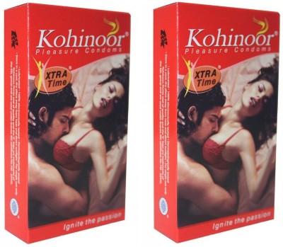 Kohinoor Extra Time Pleasure Condoms (50 Condoms)