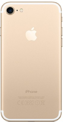 BUCKEINSTORE Apple iPhone 7 Back Panel Gold