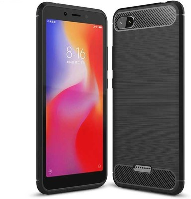 Being Stylish Back Cover for Mi Redmi 6A(Black, Dual Protection)
