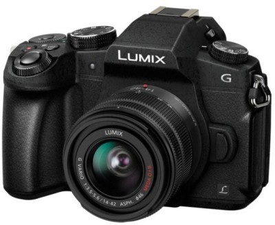 Panasonic 4K G Series Lumix G85K Mirrorless Camera Body With Single Lens: 14-42mm(Black)