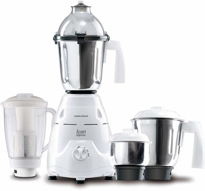 Morphy Richards 4 cfvgbn 2 Juicer Mixer Grinder(White, 4 Jars)