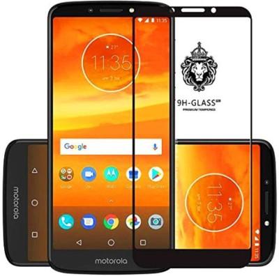 9H Edge To Edge Tempered Glass for Motorola Moto E5 Plus (5D Tempered glass)(full glue)(Pack of 1)