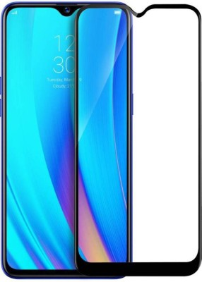 Casewilla Edge To Edge Tempered Glass for Realme C2, OPPO A1K(Pack of 1)