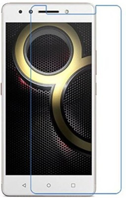 EASYBIZZ Tempered Glass Guard for Lenovo K8 Plus(Pack of 1)